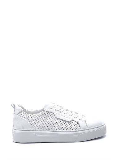 Derimod Erkek Ayakkabı(1123) Sneaker Beyaz